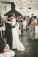 Wedding. The first dance