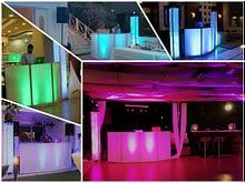 DJ set collage
