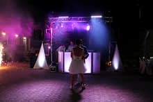DJ set in wedding